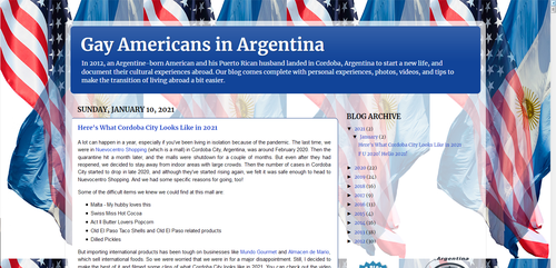 Gay Americans in Argentina
